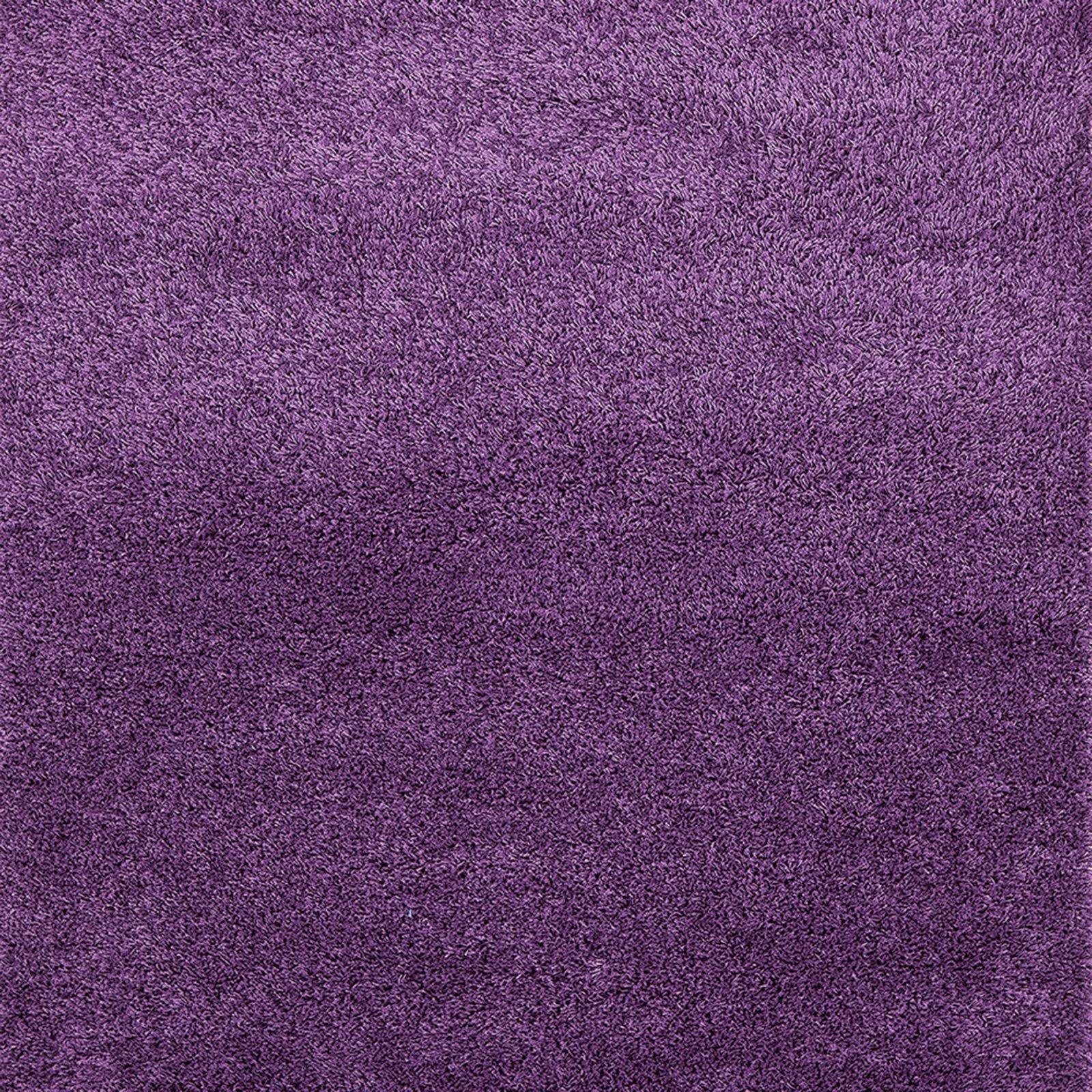 roller teppich shaggy plus lila 50x100 cm ebay. Black Bedroom Furniture Sets. Home Design Ideas