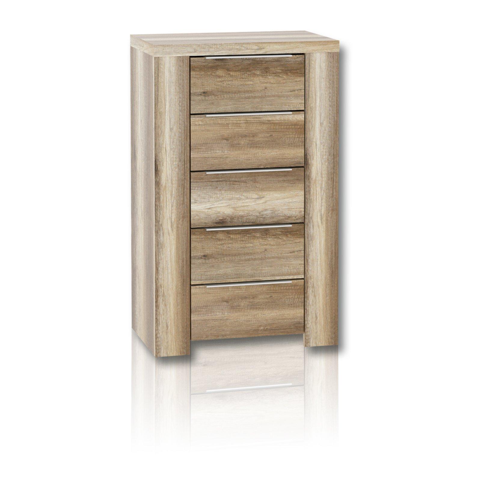 kommode calpe eiche antik 105 cm h he kommoden sideboards m bel roller m belhaus. Black Bedroom Furniture Sets. Home Design Ideas