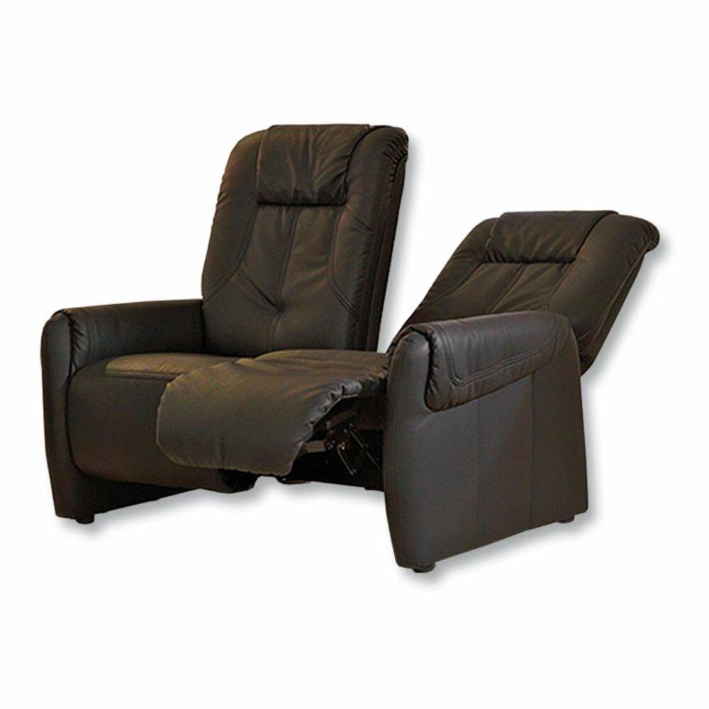 sofa schwarz 2 sitzer relaxfunktion einzelsofas. Black Bedroom Furniture Sets. Home Design Ideas