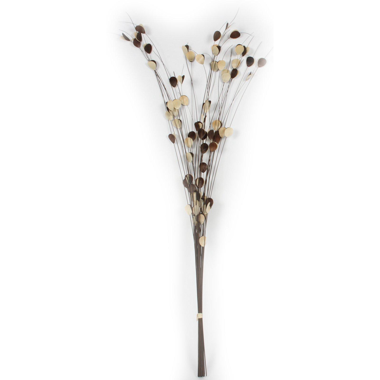 Kunstpflanze Kokuszweig - braun - 100 cm