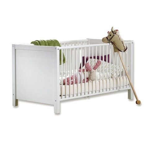 Babybett NIGHTLIGHT - alpinweiß - 70x140 cm