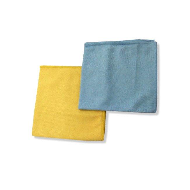 2er Pack Fenstertücher - Microfaser - 32x32 cm