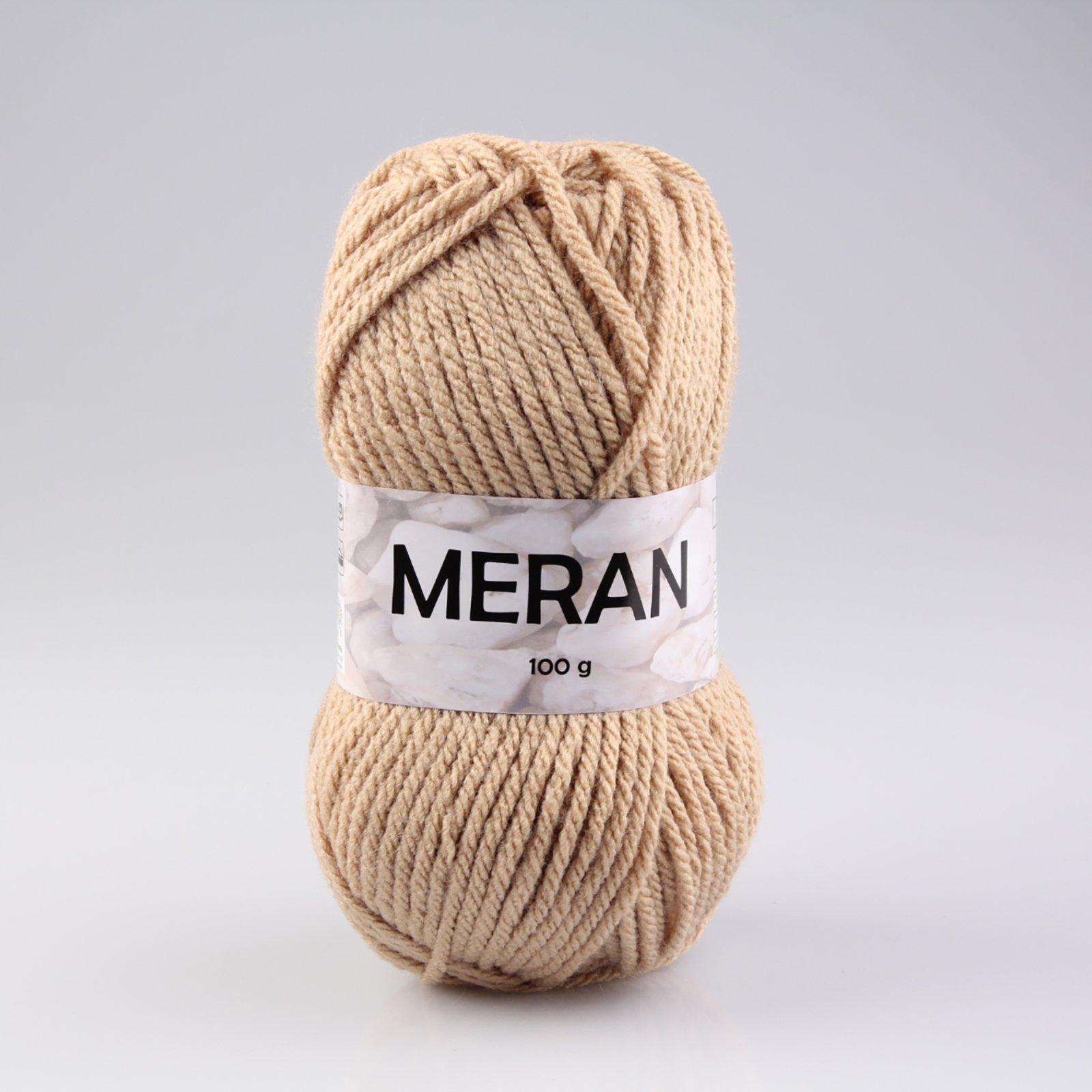 Wolle MERAN - beige - 100g