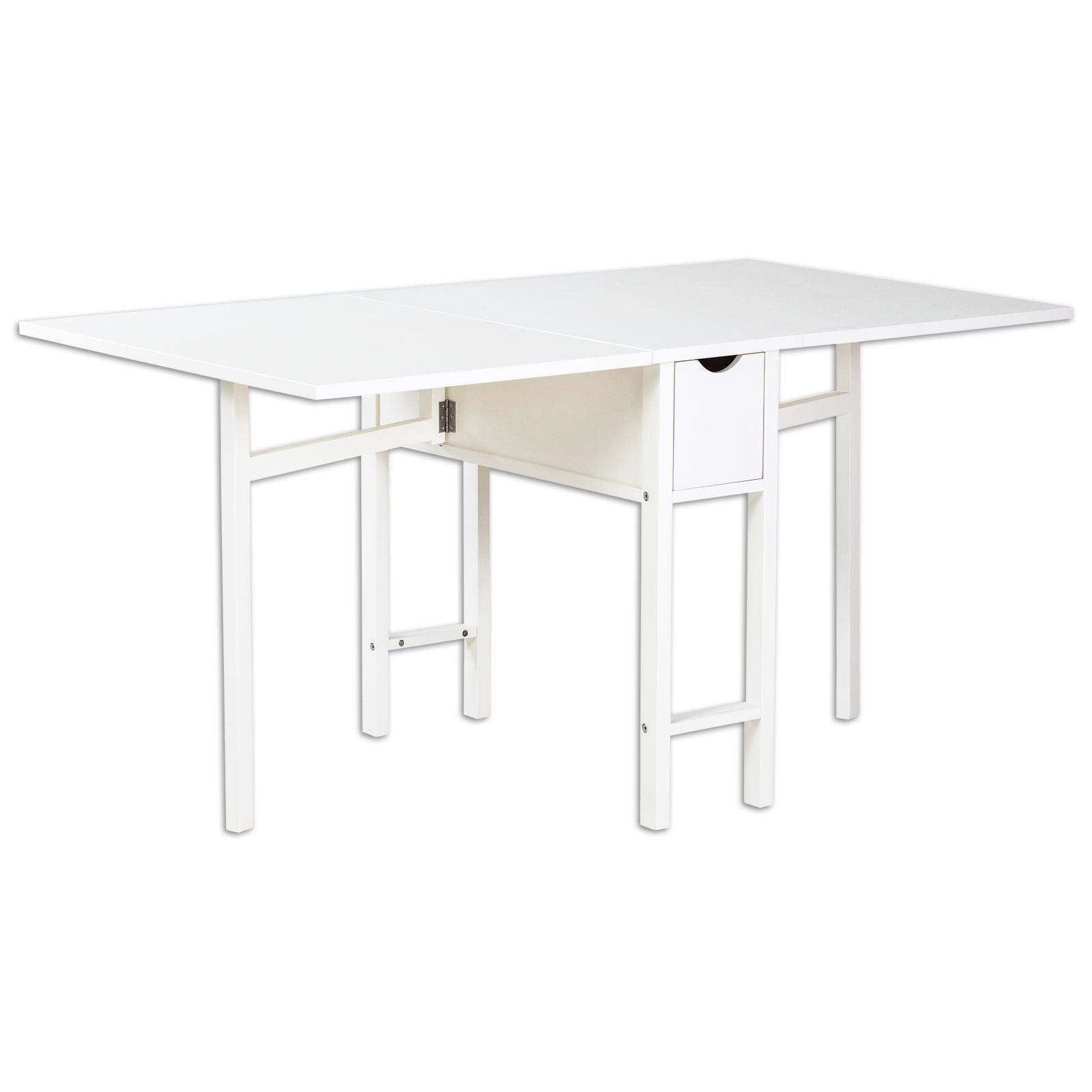 Tisch Klappbar Weiß.Esstisch Weiß Klappbar