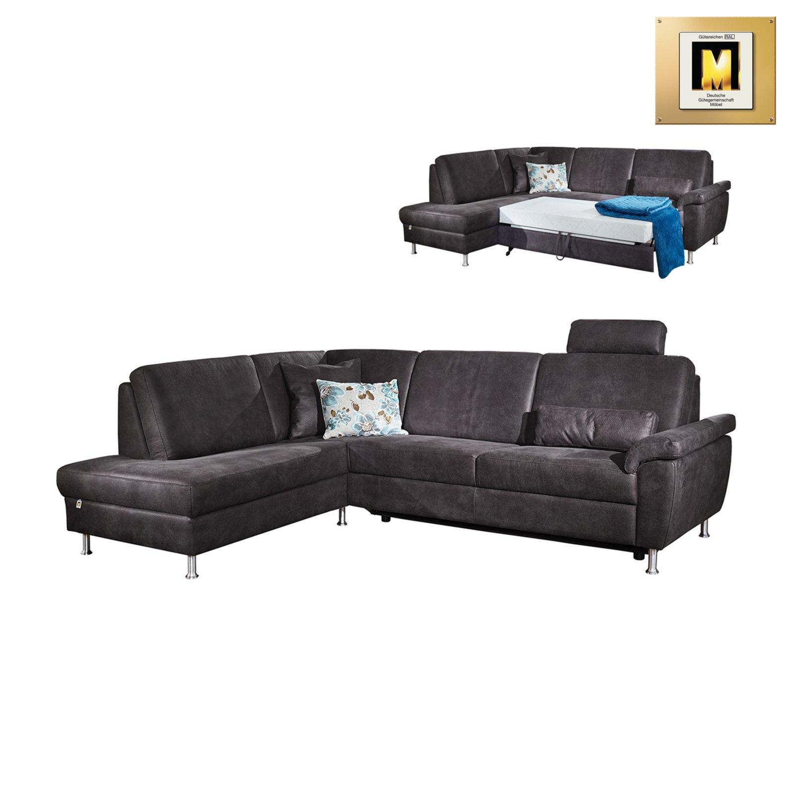 ecksofa anthrazit mit funktion ecksofas l form sofas couches m bel roller. Black Bedroom Furniture Sets. Home Design Ideas