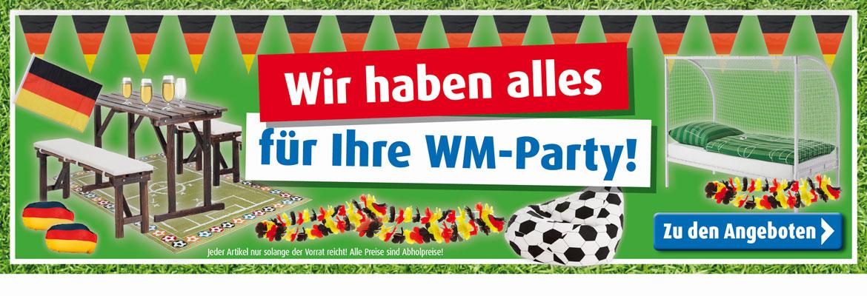 Alles für Ihre WM-Party!