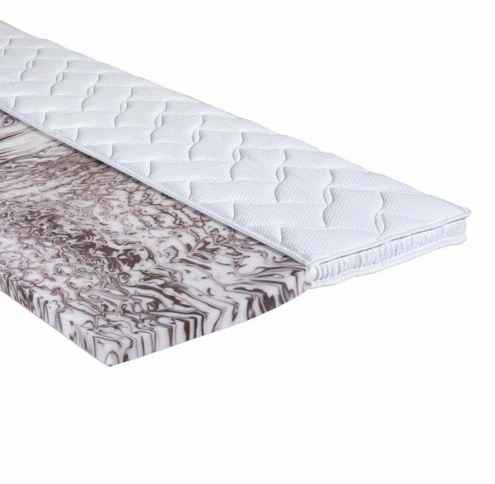 topper gel schaumkern 80x200 cm topper matratzen lattenroste schlafzimmer. Black Bedroom Furniture Sets. Home Design Ideas