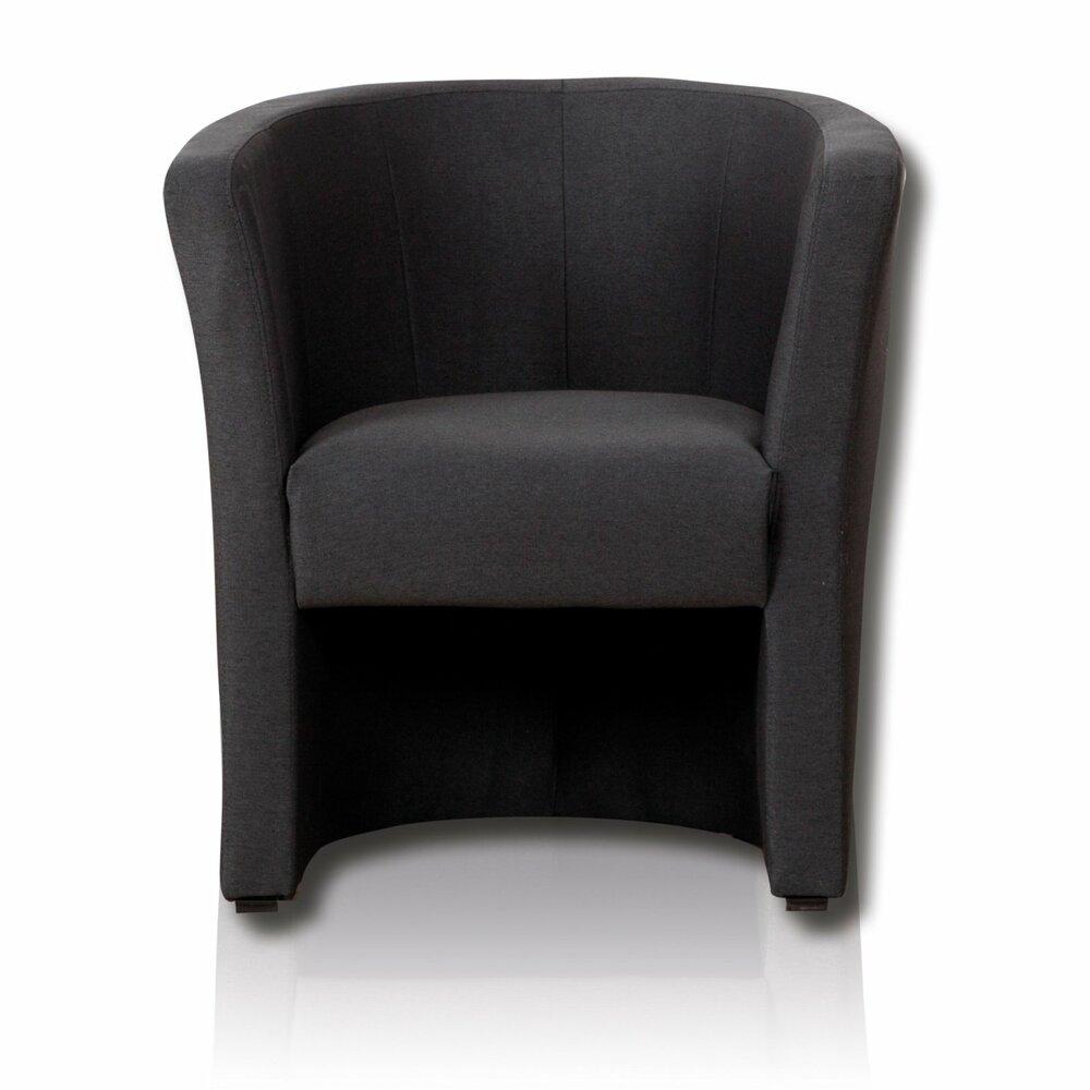 cocktailsessel anthrazit 75x83 cmangebot bei roller. Black Bedroom Furniture Sets. Home Design Ideas