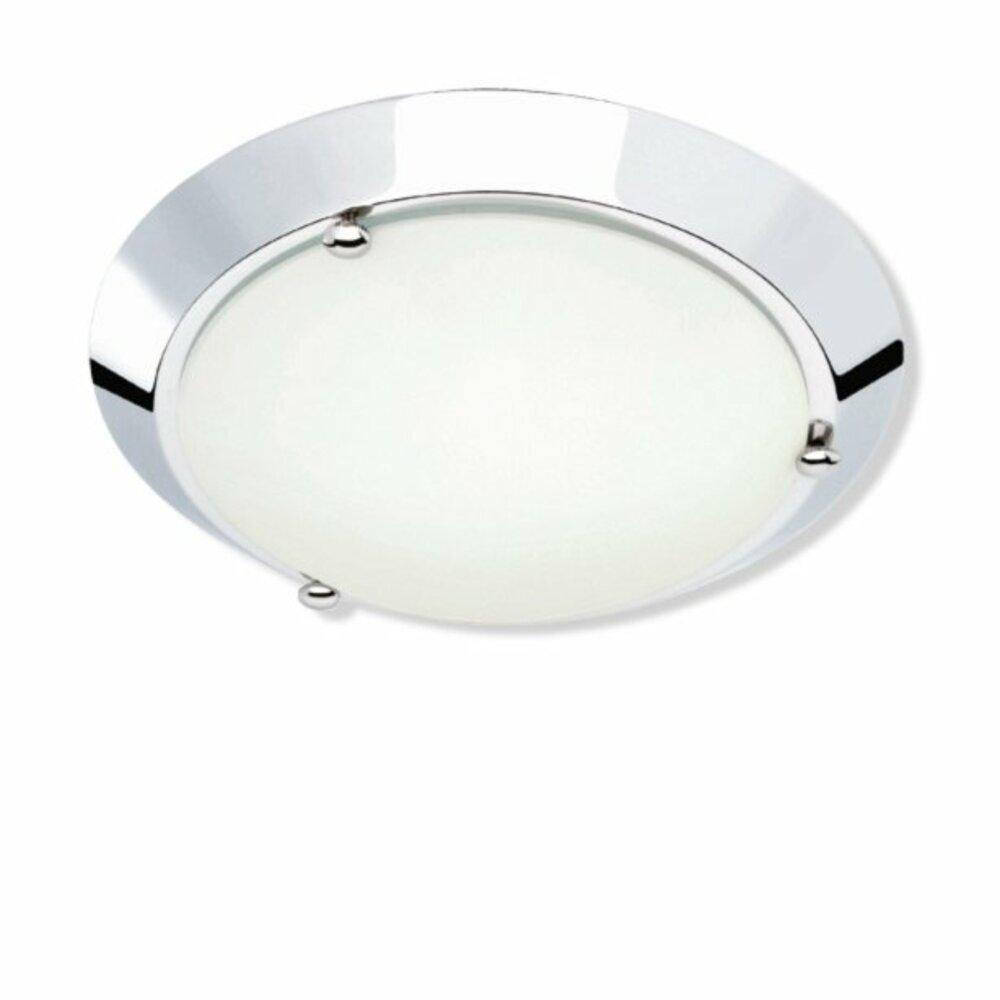badlampe wand und decke metall chrom glas wei bad wandleuchten badleuchten lampen. Black Bedroom Furniture Sets. Home Design Ideas