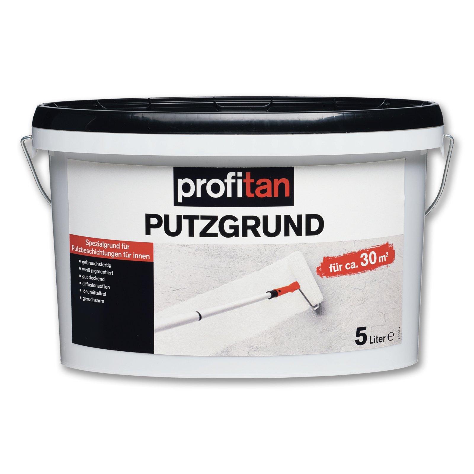 profitan Putzgrund - weiß matt - Innenfarbe - 5 Liter