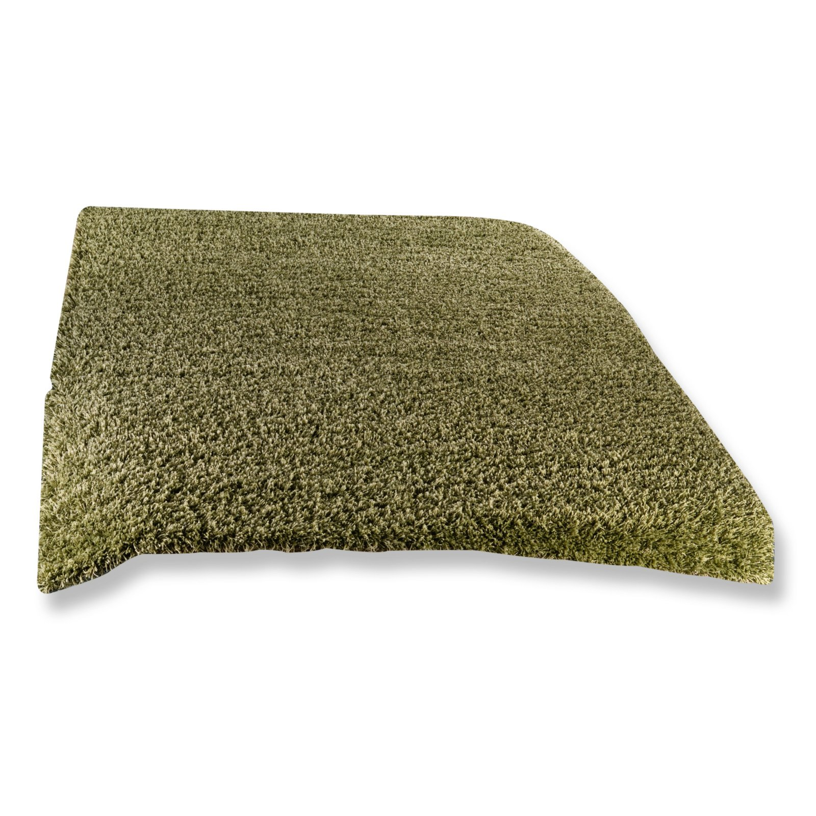hochflor teppich shaggy plus gr n 65x130 cm hochflor. Black Bedroom Furniture Sets. Home Design Ideas