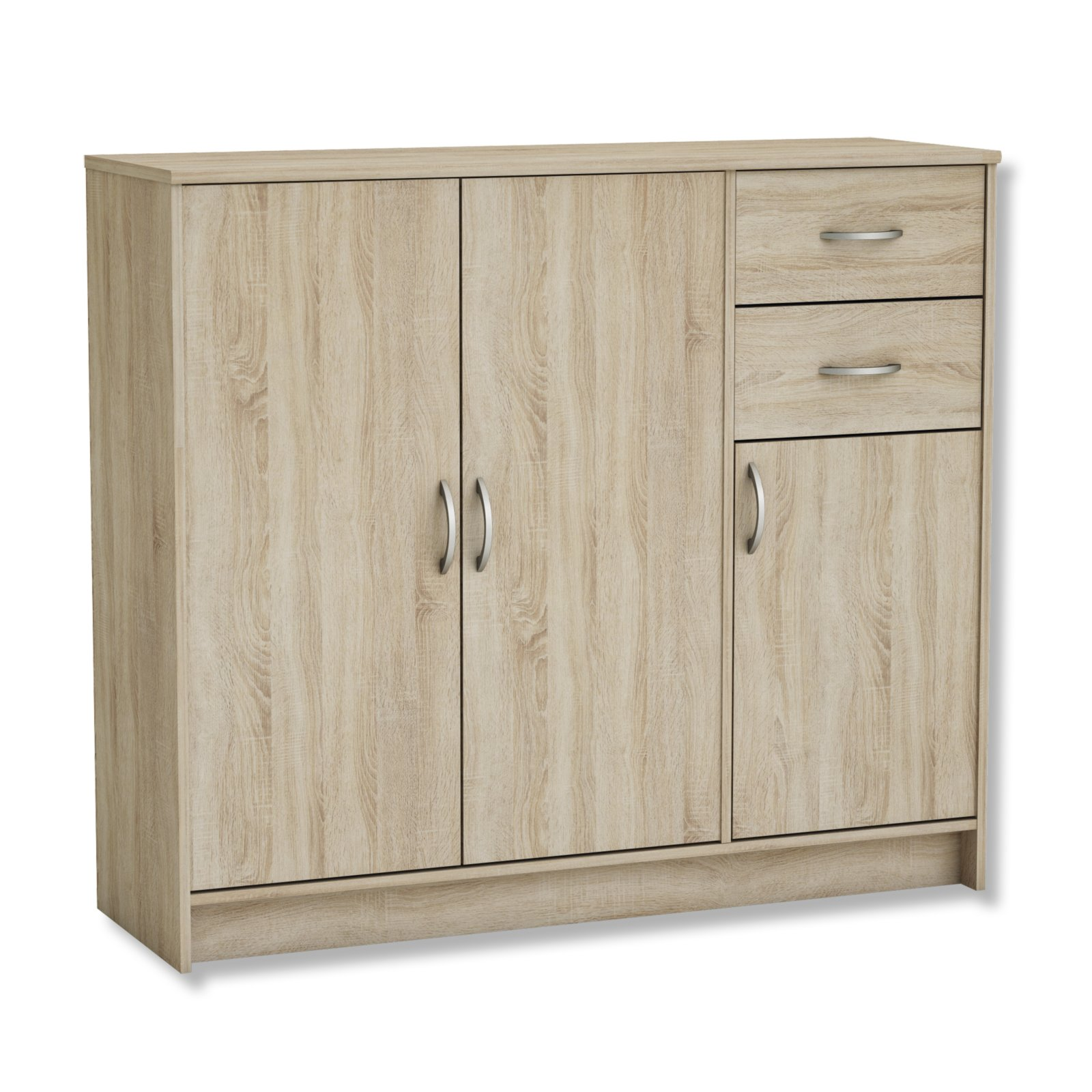kommode sonoma eiche kommoden sideboards m bel m belhaus roller. Black Bedroom Furniture Sets. Home Design Ideas