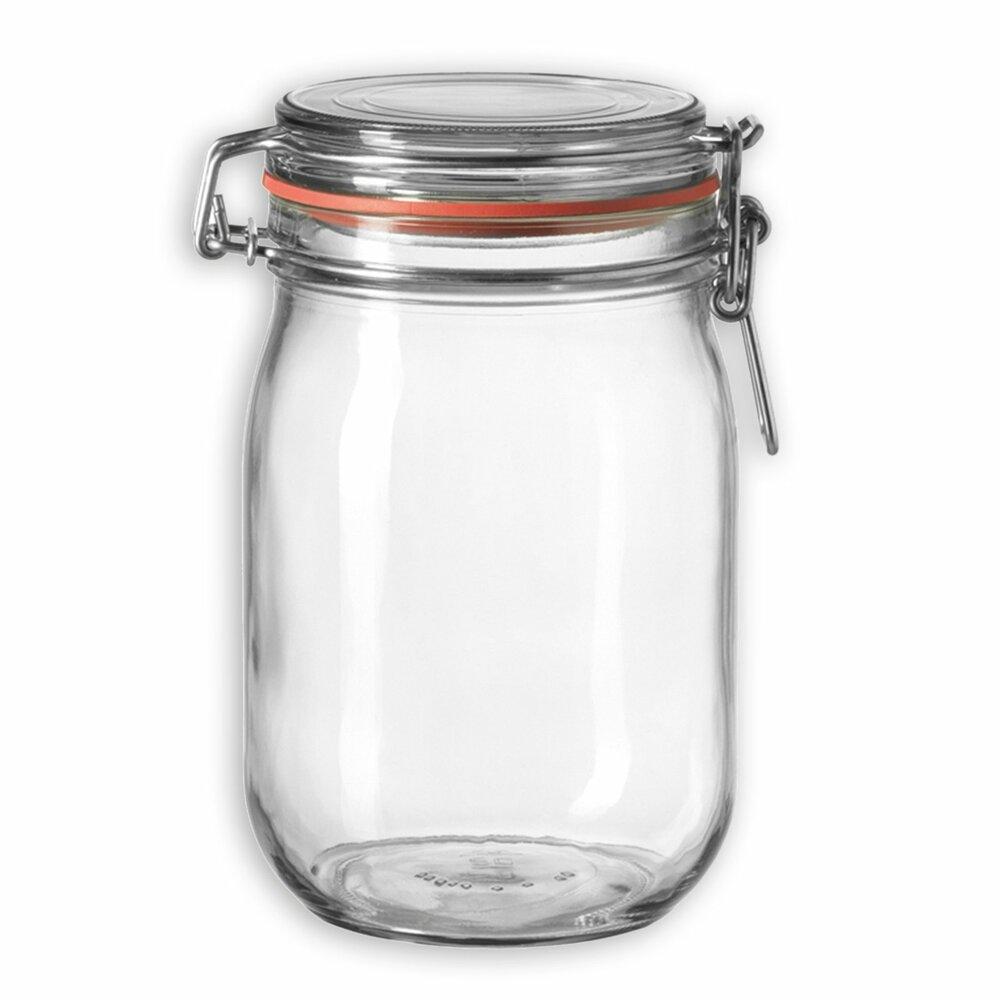 einmachglas cucina 1 liter einmachgl ser dosen und vorratsgl ser haushalts. Black Bedroom Furniture Sets. Home Design Ideas