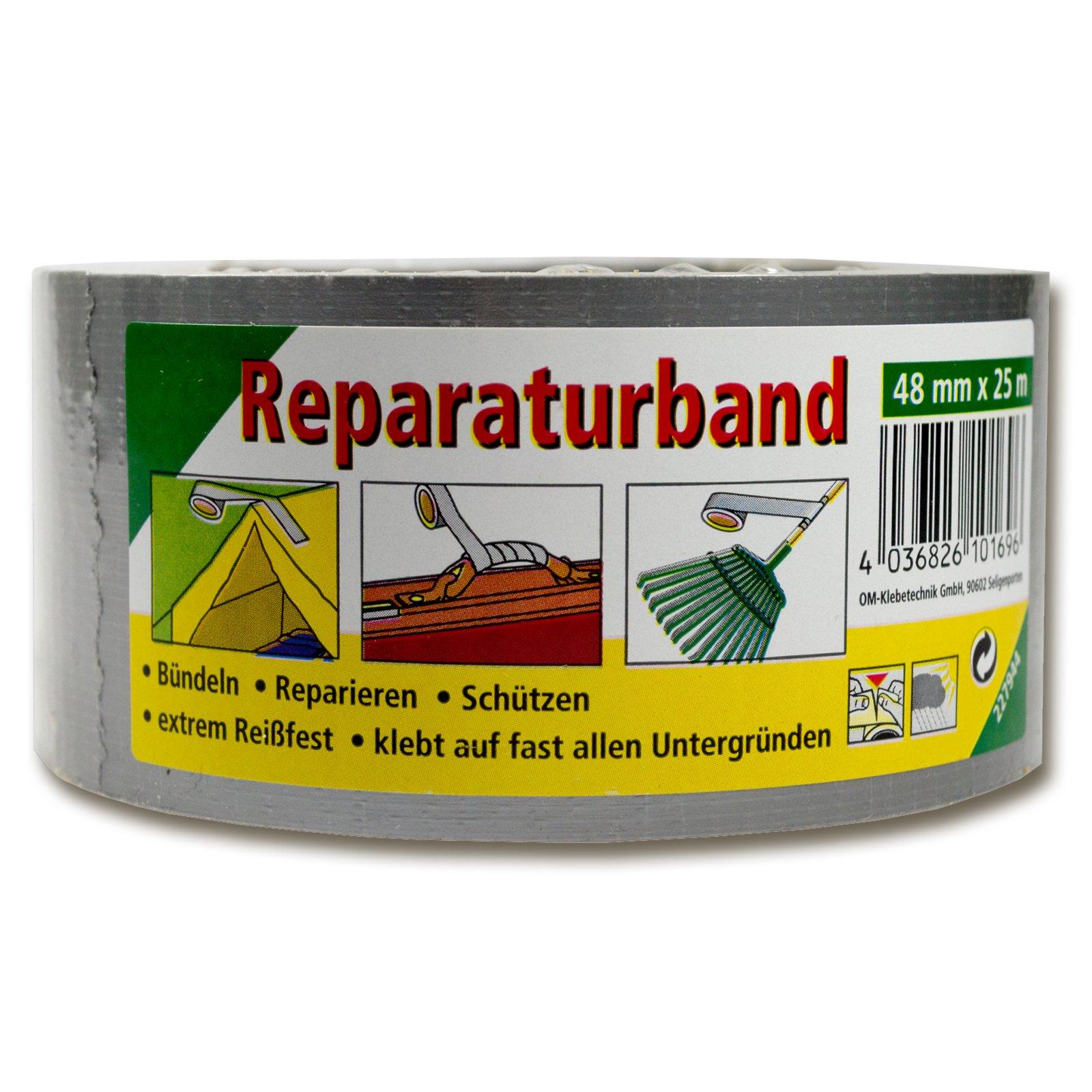 Reparaturband - Kautschuk - 25 Meter