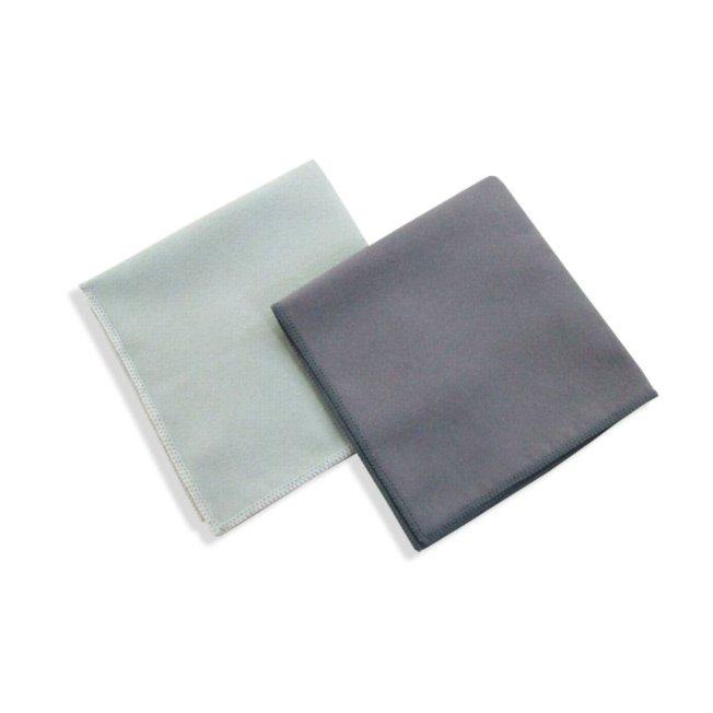 2er-Pack Bildschirmtücher - Microfaser - 32x32 cm