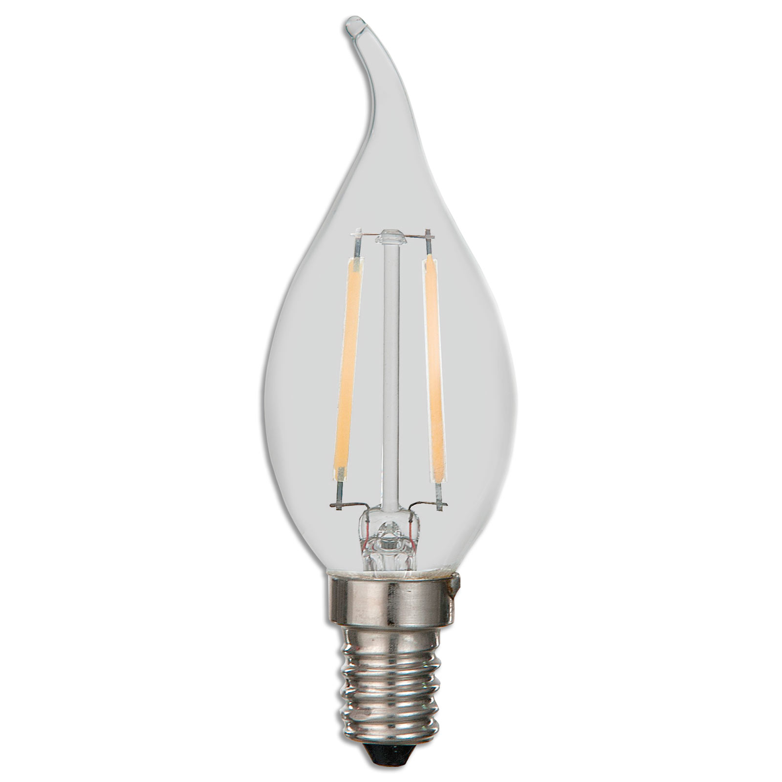 LED-Windstoßkerze Filament - E14 - 2,6 Watt - warmweiß