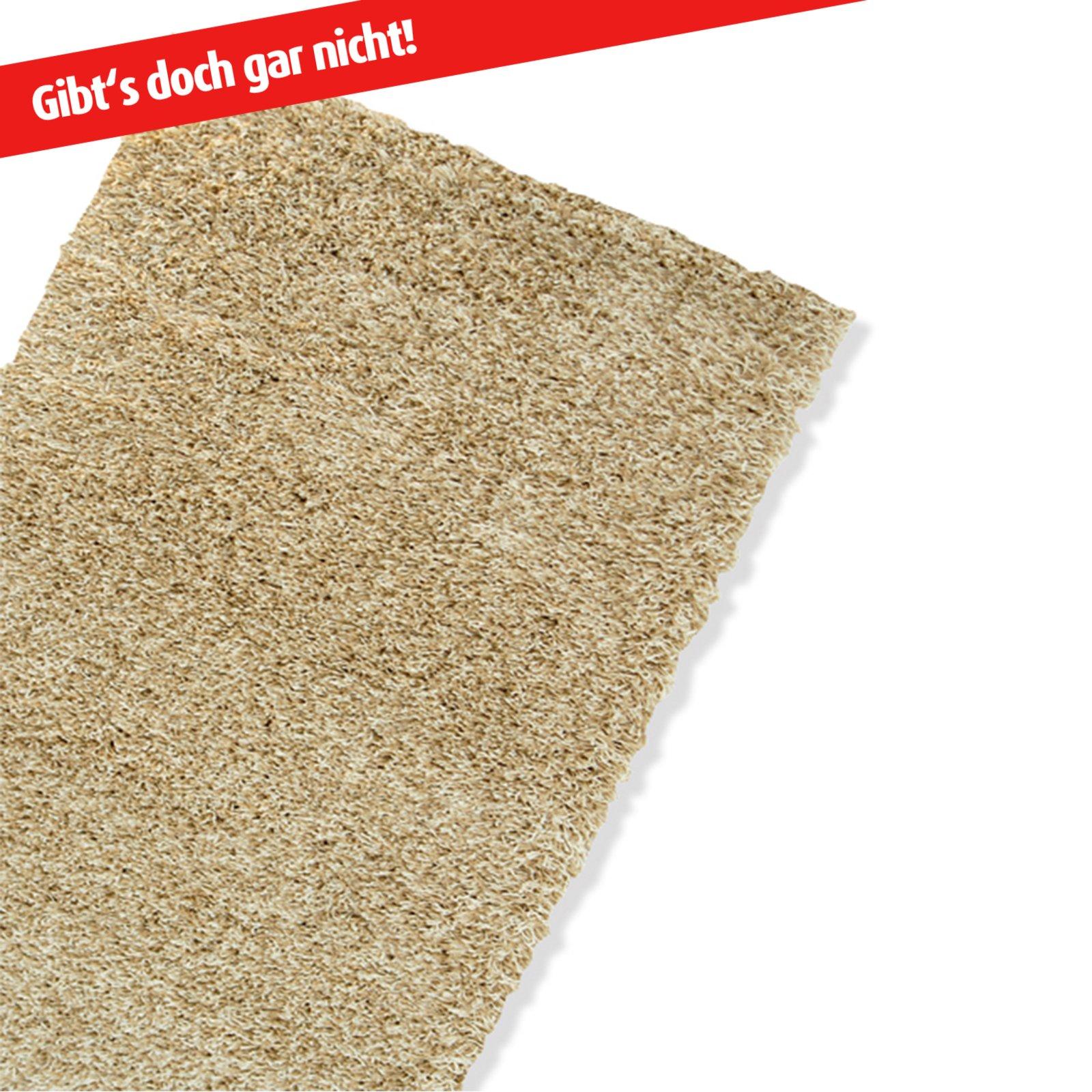Teppich SHAGGY - beige - 50x100 cm