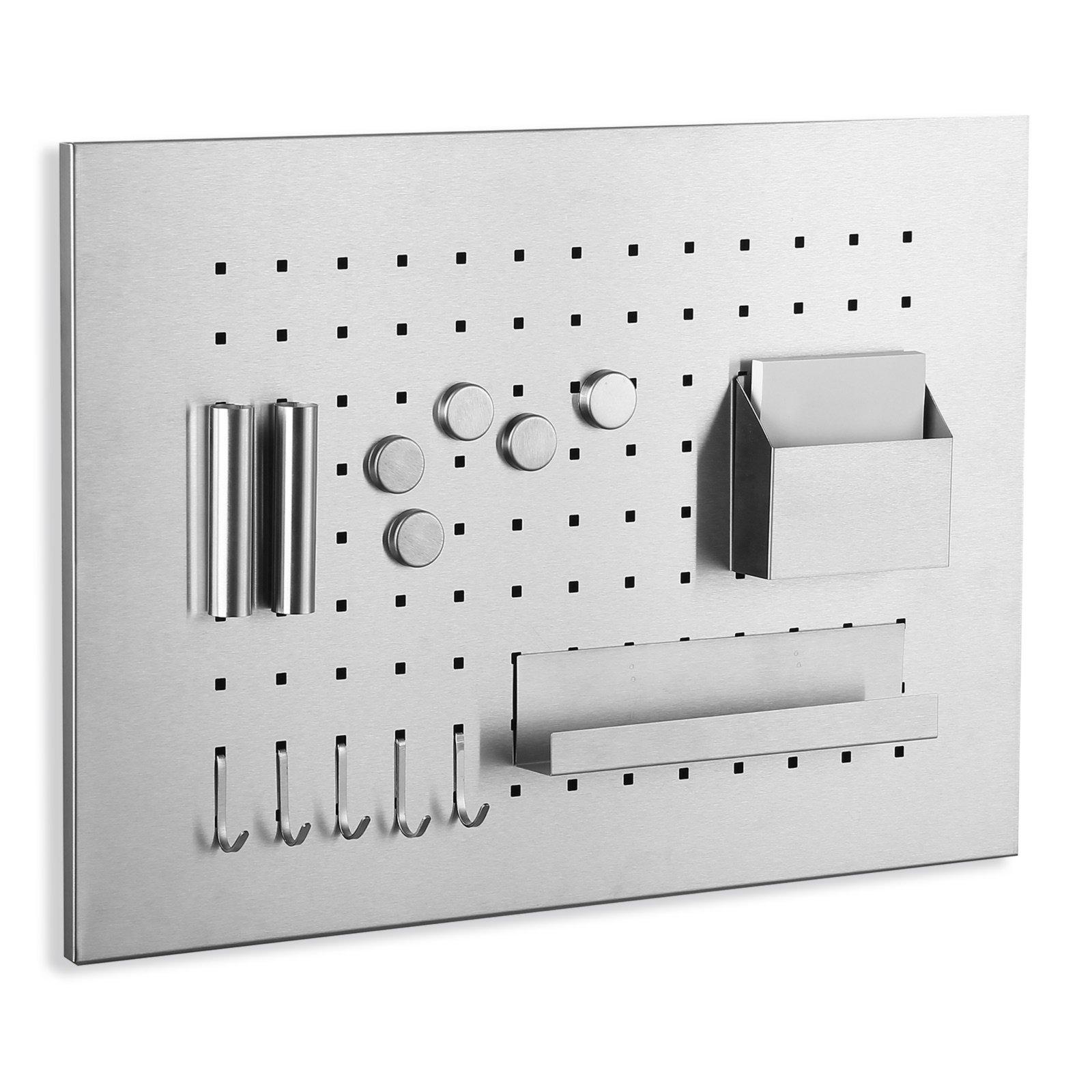 memoboard edelstahl 13 teile 35x50 cm pinnw nde tafeln deko wohnaccessoires. Black Bedroom Furniture Sets. Home Design Ideas