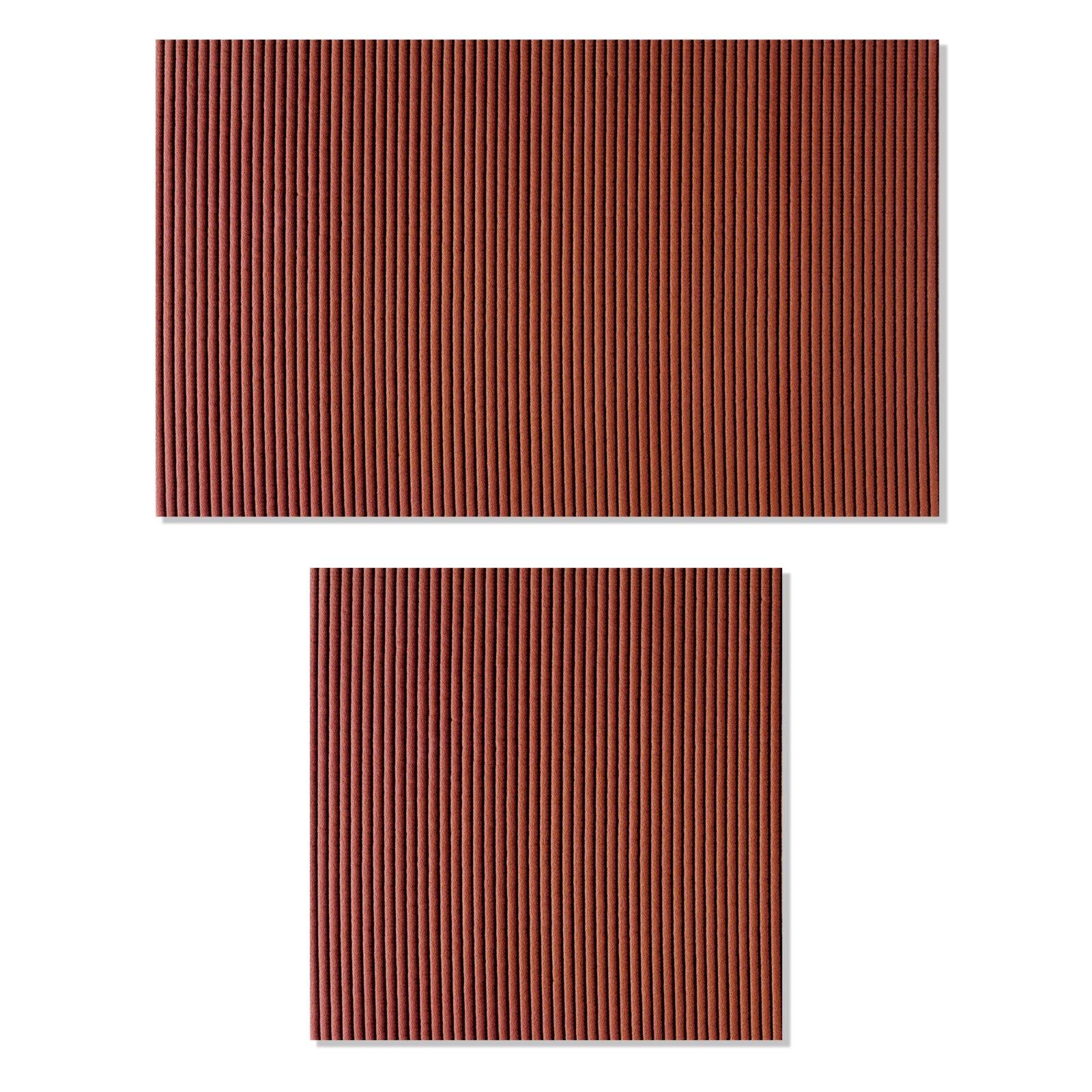 badvorleger braun 2er set badteppiche matten badtextilien heimtextilien deko. Black Bedroom Furniture Sets. Home Design Ideas