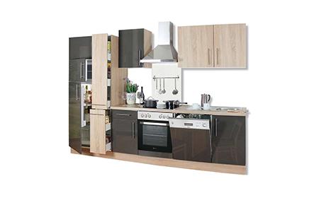 einrichtung f r wohnbereiche und k che mit stil m beln von roller. Black Bedroom Furniture Sets. Home Design Ideas