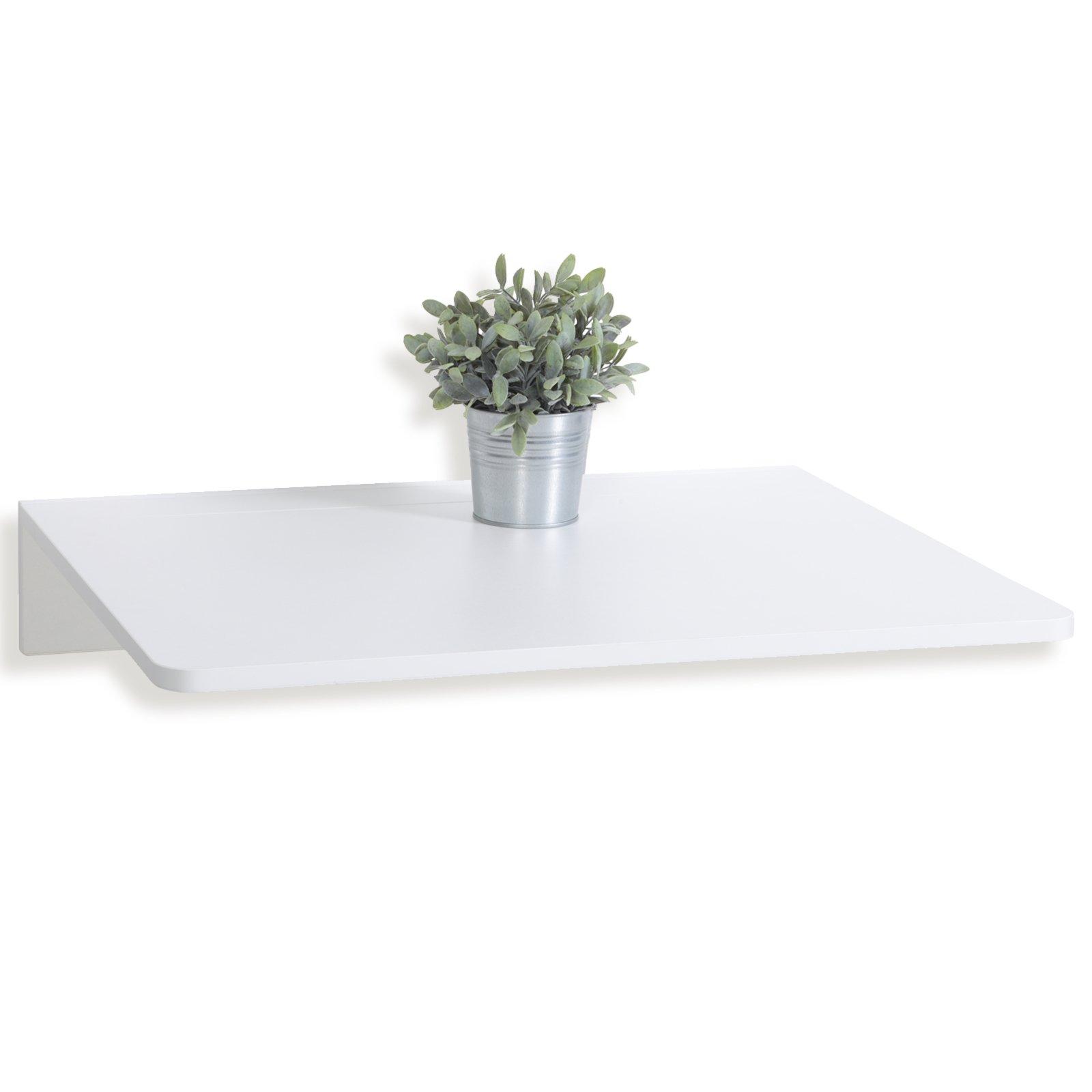Wandklapptisch NATALIE T - weiß - 74x76 cm