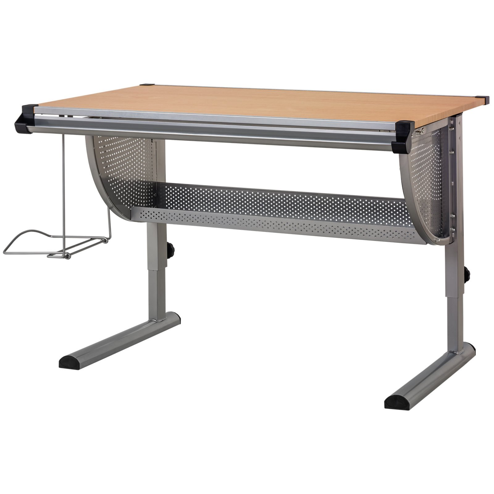 Funktions schreibtisch beech rechteckige schreibtische for Schreibtisch roller