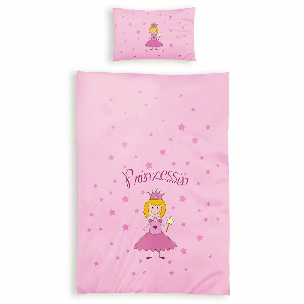 Renforcé Baby Bettwäsche Prinzessin 100x135 Cm Online Bei