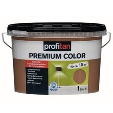profitan Wandfarbe Premium Color - hot chocolate edelmatt - 1 Liter