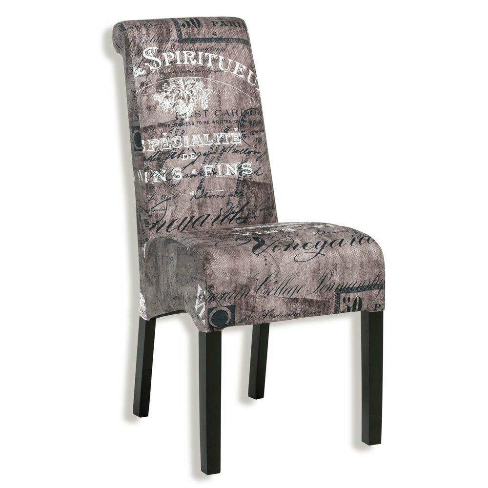 polsterstuhl rena vintage webstoff buche massiv. Black Bedroom Furniture Sets. Home Design Ideas