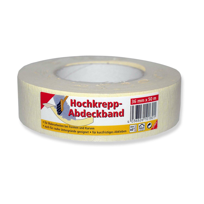 Kreppband - 36 mm x 50 m | Klebeband & Kreppband | Malerbedarf ...