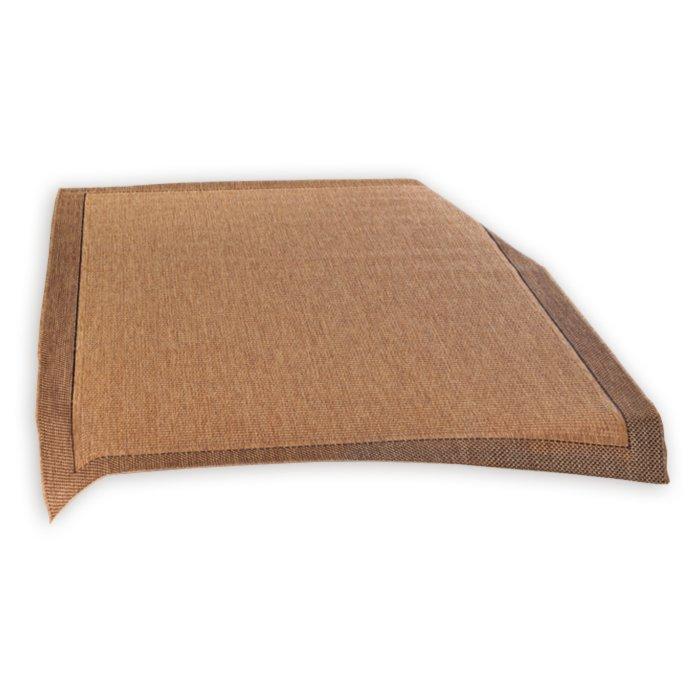 Teppich OSLO  braun  120×170 cm  Einfarbige Teppiche
