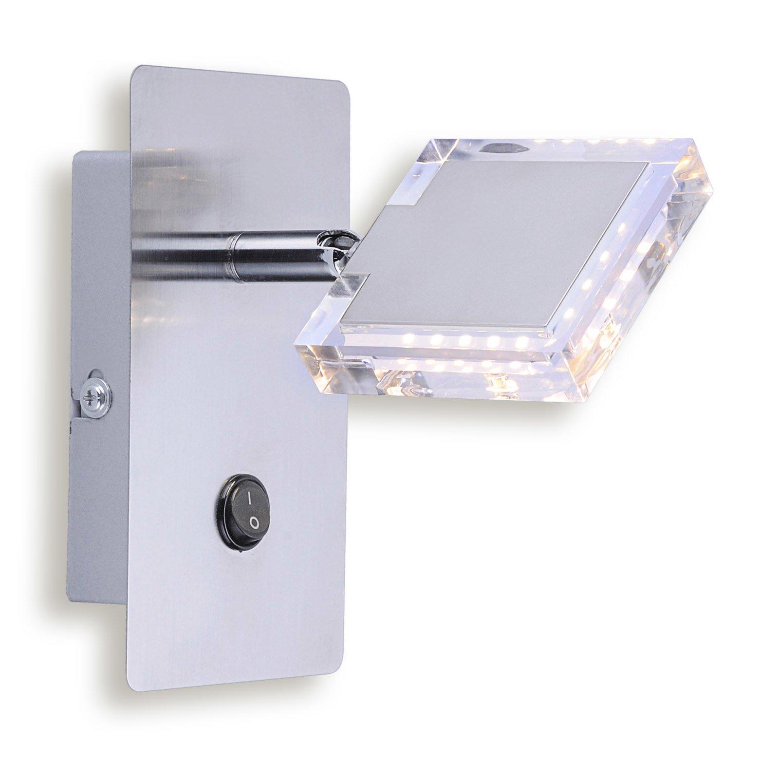 LED-Spot TONY - alufarben - 1-flammig