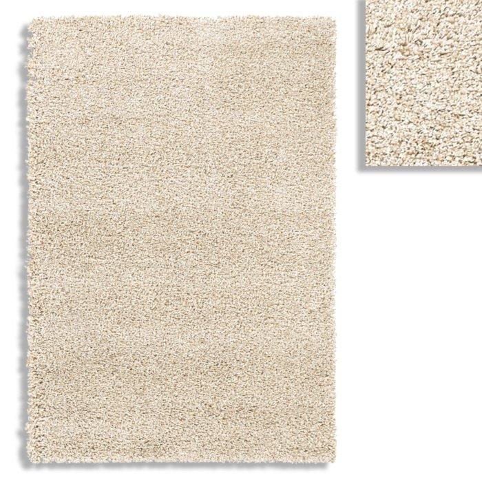 hochflor teppich london shaggy beige 160x230 cm. Black Bedroom Furniture Sets. Home Design Ideas