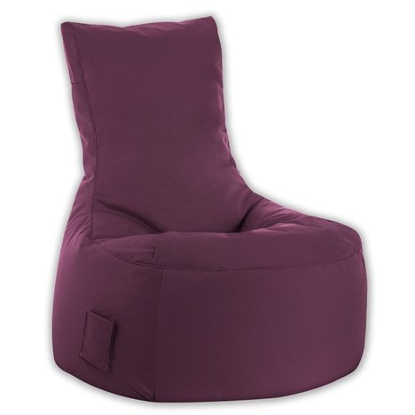 SITTING POINT - Sitzsack BRAVA SWING - aubergine