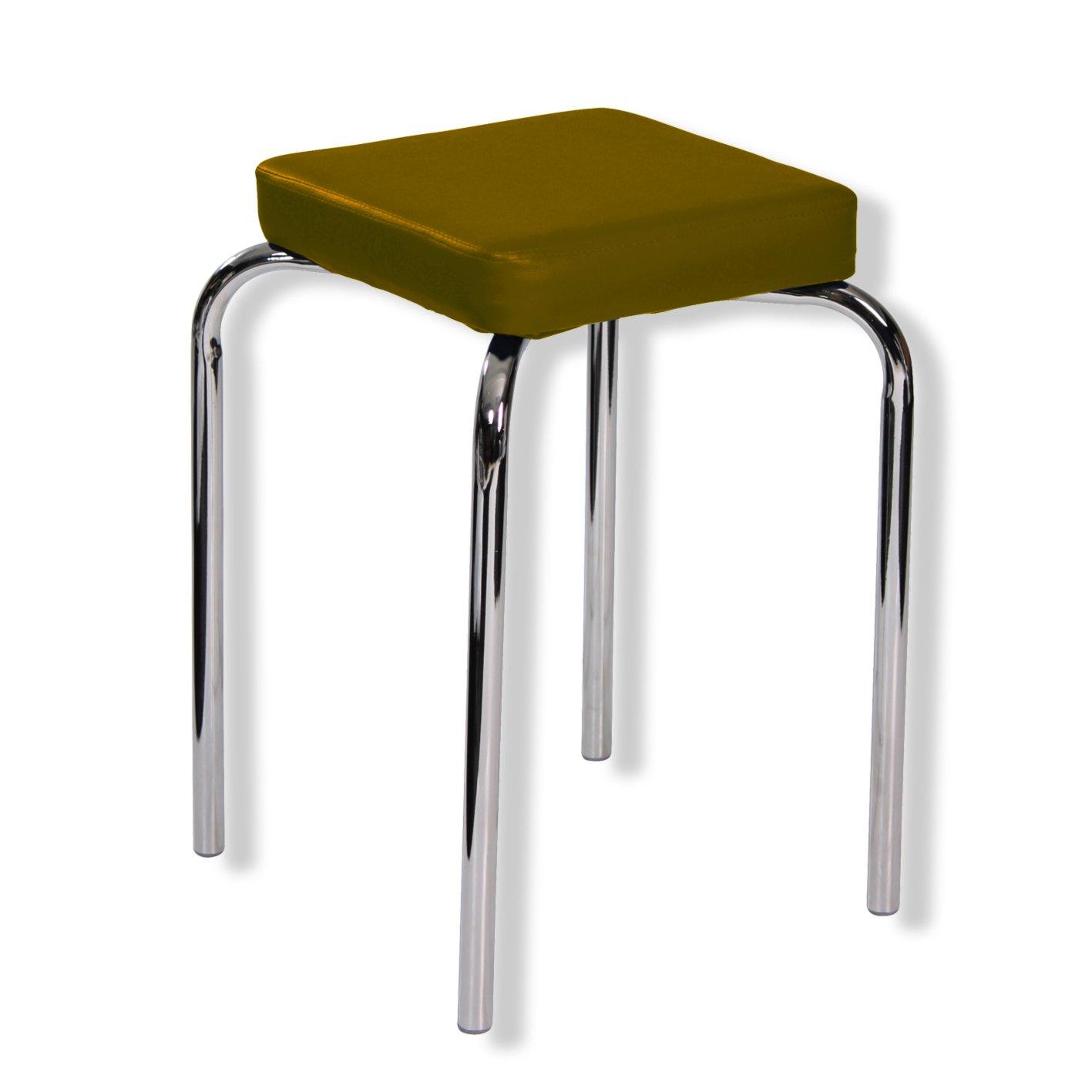 hocker braun kunstleder hocker st hle hocker m bel roller m belhaus. Black Bedroom Furniture Sets. Home Design Ideas