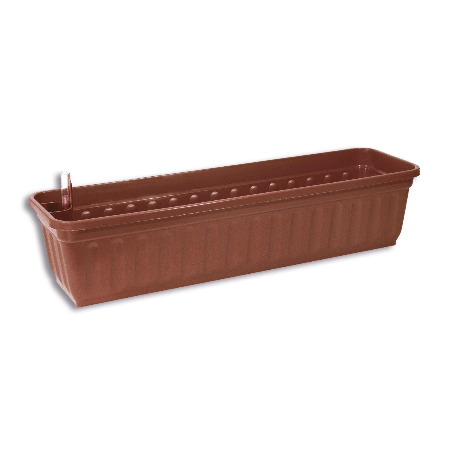 blumenkasten aqua perfect braun l nge 80 cm. Black Bedroom Furniture Sets. Home Design Ideas