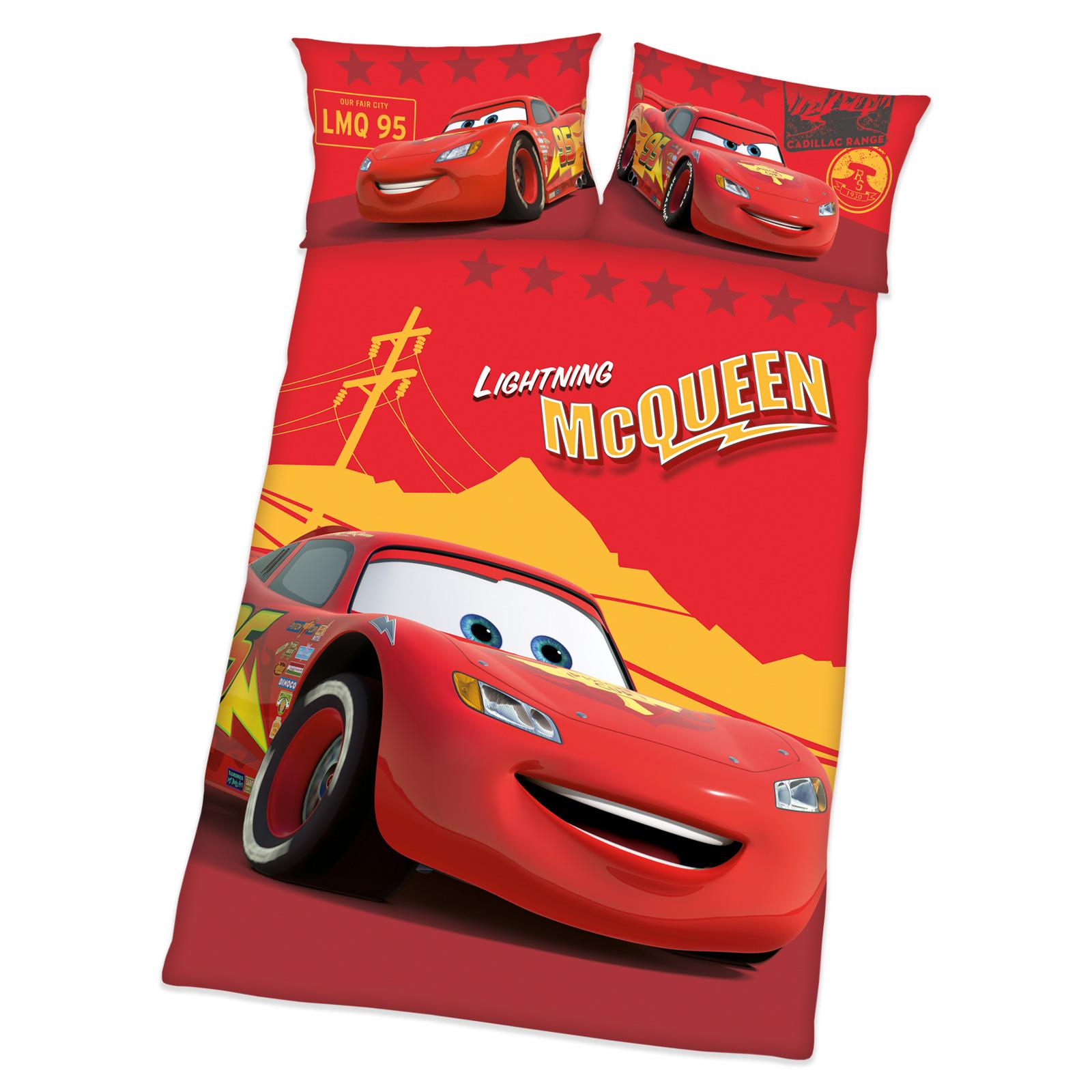 Disney Cars Baby Bettwäsche Set 100 x 135 cm für Jungen Baby