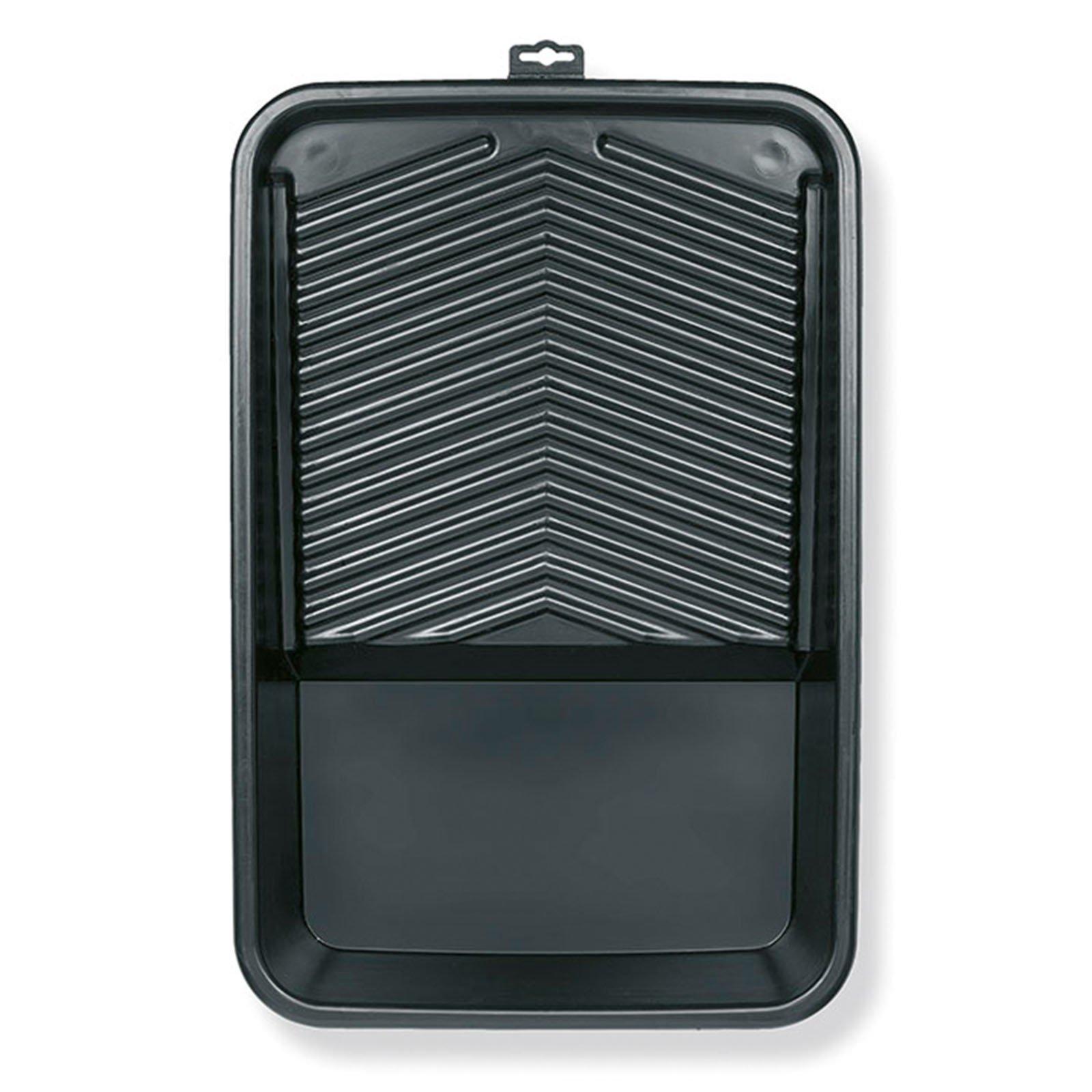 Farbwanne - schwarz - Kunststoff