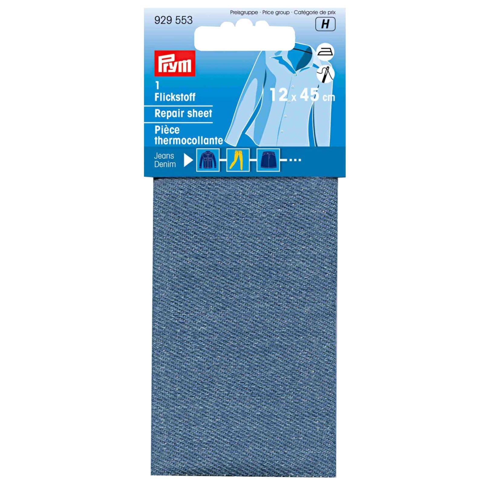 Flicken Jeans - mittelblau - 12x45 cm