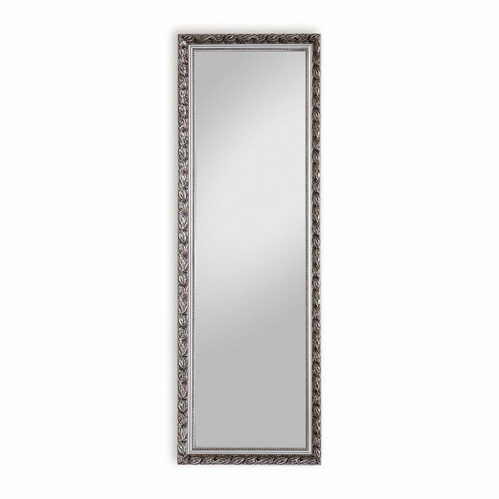Wandspiegel pius silber mit aufh ngung 50x150 cm - Aufhangung fenster ...