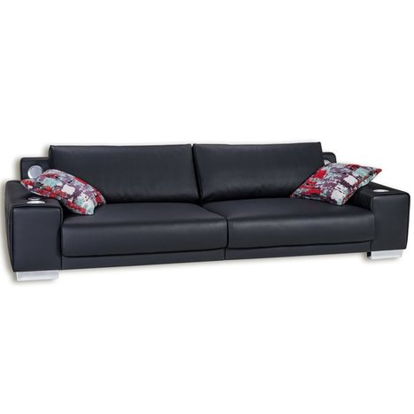 Big Sofa - schwarz - mit Bluetooth-Soundsystem