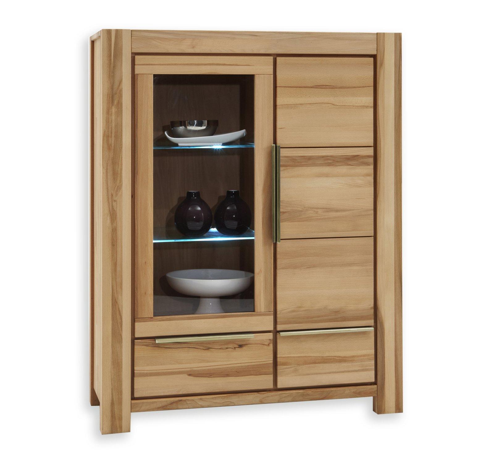 vitrinenschrank nena vitrinen m bel m belhaus roller. Black Bedroom Furniture Sets. Home Design Ideas