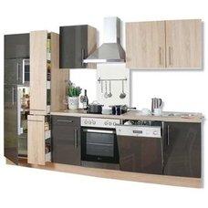 Guenstige kuechen kaufen mit elektrogeraeten  Küchenzeilen mit E-Geräten günstig online kaufen auf roller.de