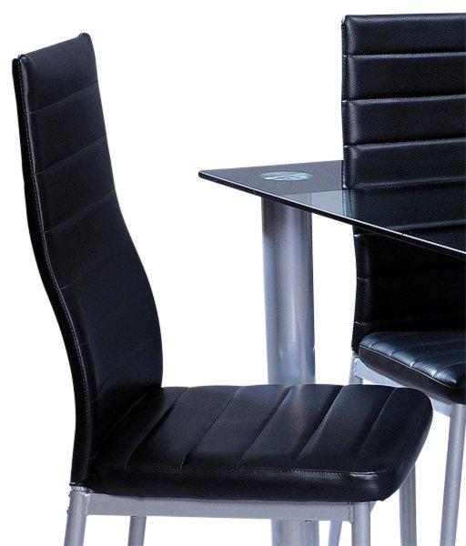 Esstischgruppe cindy 5 teilig glastisch und 4 st hle - Roller glastisch ...