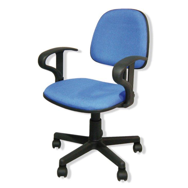 drehstuhl style ii blau h henverstellbar. Black Bedroom Furniture Sets. Home Design Ideas