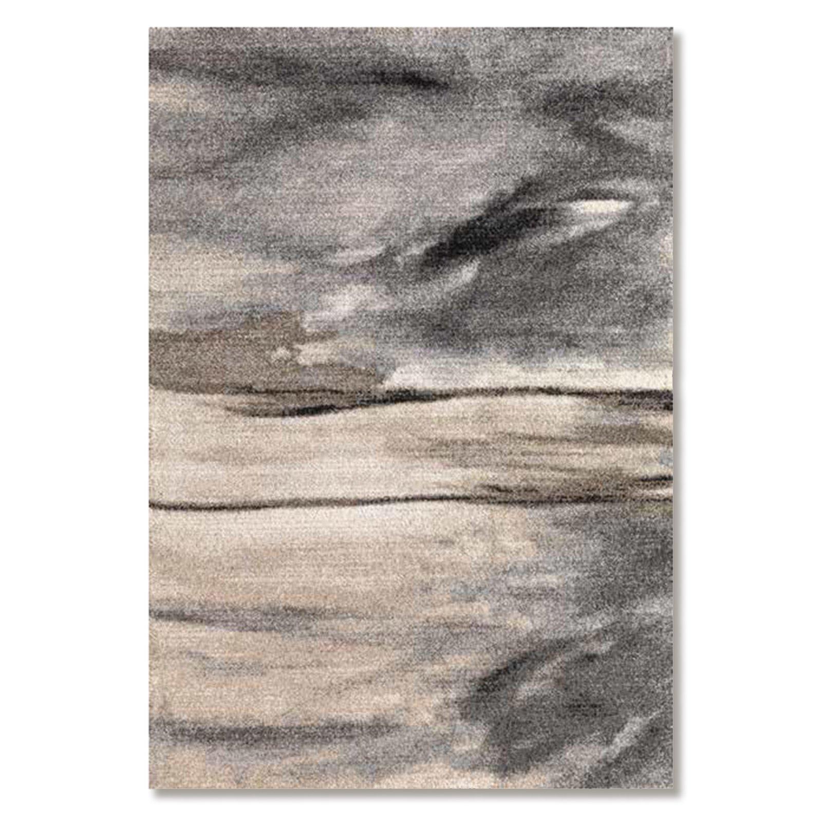 teppich casa elegant beige grau 160x230 cm gemusterte teppiche teppiche l ufer deko. Black Bedroom Furniture Sets. Home Design Ideas