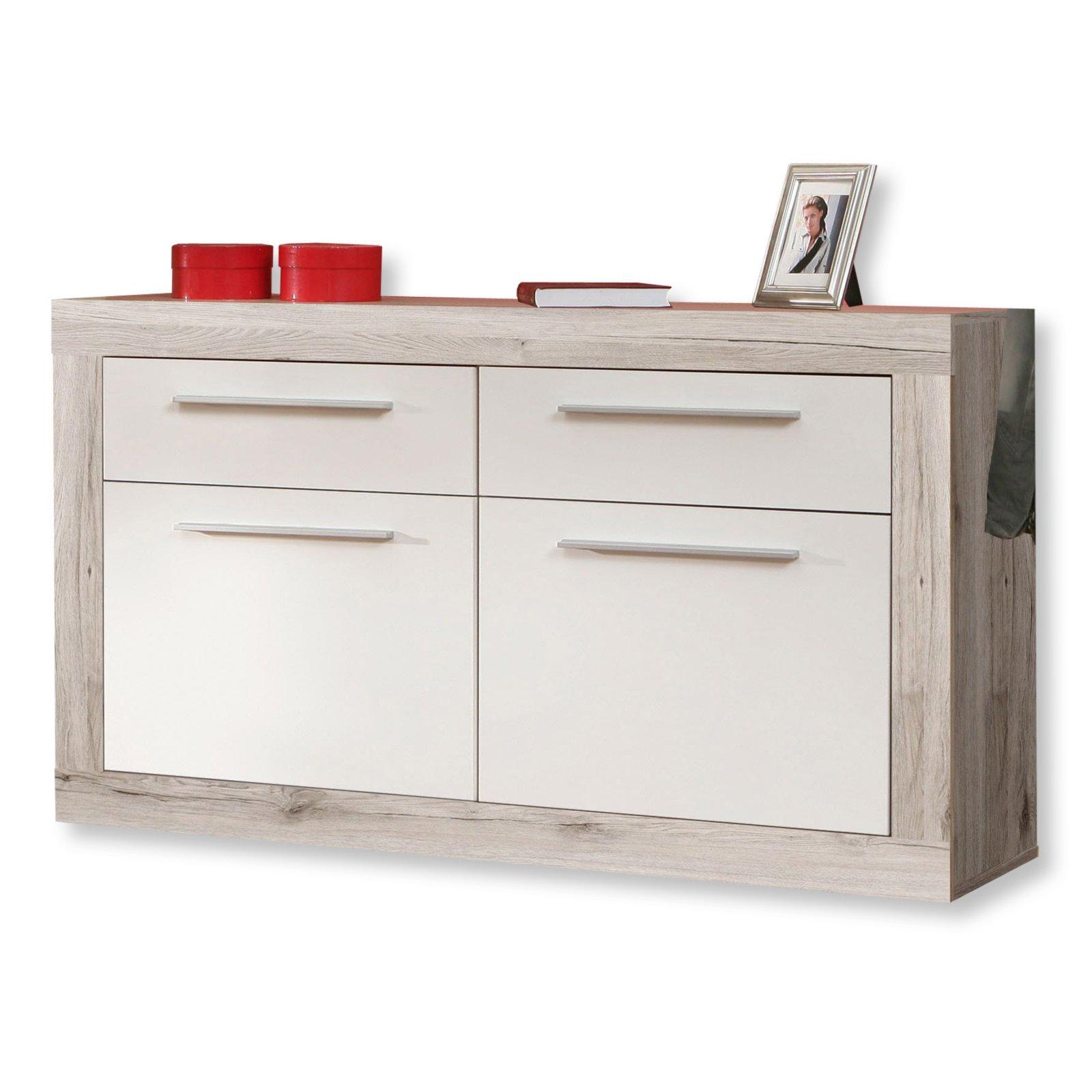 schuhschrank cremona plus sandeiche wei. Black Bedroom Furniture Sets. Home Design Ideas