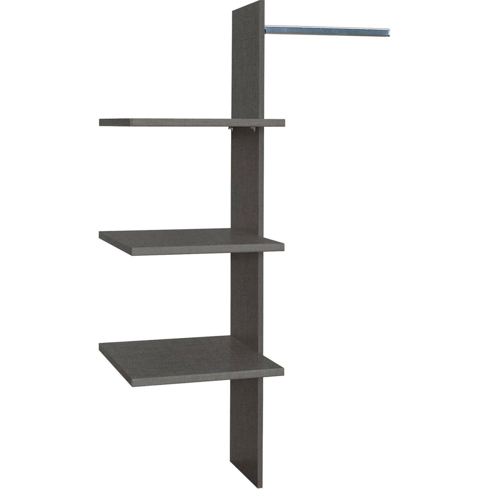 schrankeinteilung f r kleiderschr nke 90x148 cm. Black Bedroom Furniture Sets. Home Design Ideas