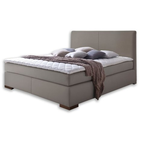 boxspringbett lenno muddy kunstleder 180x200 cm h2 h3 boxspringbetten betten m bel. Black Bedroom Furniture Sets. Home Design Ideas