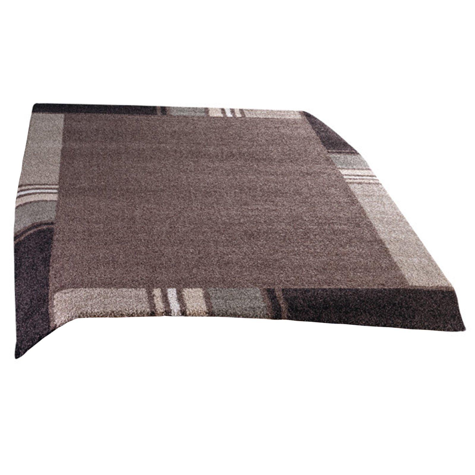frisee teppich casa braun 120x170 cm gemusterte teppiche teppiche l ufer deko. Black Bedroom Furniture Sets. Home Design Ideas